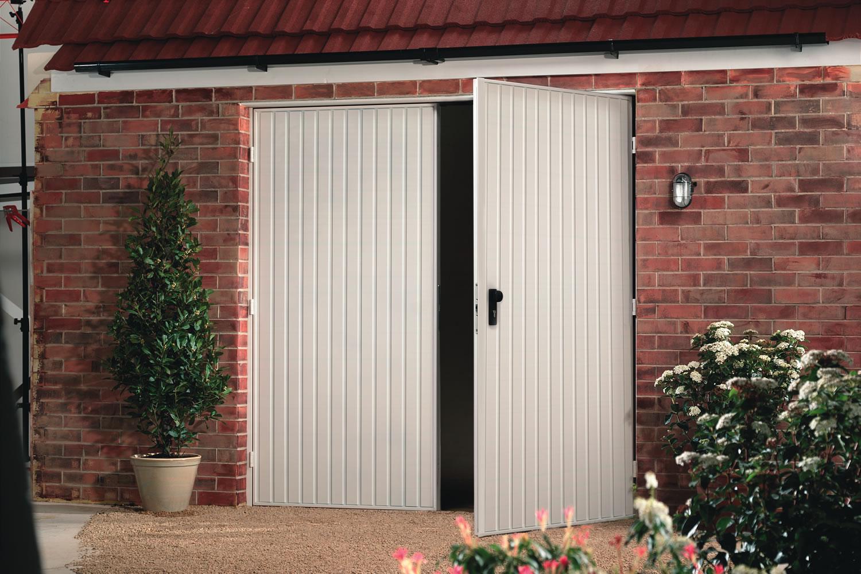 Side Hinged Garage Doors Durham