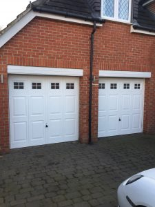 After - New Hormann Georgian Doors fitted in Houghton Le Spring, Durham